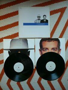 Pet Shop Boys Discography Double Vinyl UK 1990 Parlophone 1st Press 2LP Greatest