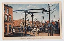 Volendam,Netherlands,Brug over de Kalkoengracht,c.1909