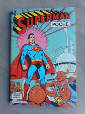 SUPERMAN POCHE N°42 SAGEDITION ETAT CORRECT