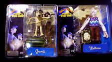 Wallace & Gromit Movie 4 Figure Set McFarlane Toys New from 2005 Set A + B