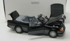Mercedes Benz 300 CE-24 / W124 ( 1990 ) schwarz / Norev 1:18