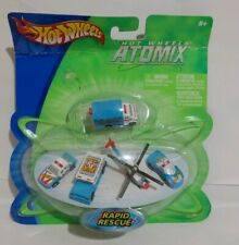 Hot Wheels 2003 Micro Atomix Series RAPID RESCUE SET