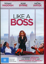 Like a Boss DVD NEW Region 4 Tiffany Haddish Salma hayek Rose Byrne