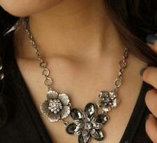Pendant Betsey Johnson Hot Jewelry Rhinestone Fashion flowers retro necklace