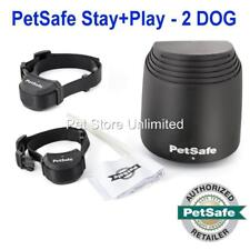 PetSafe Stay and Play Wireless 2-DOG Fence PIF00-12917 Rechargeable PIF00-14288