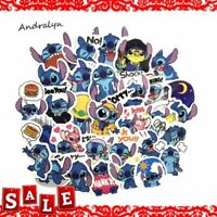 Classics Lilo Stitch Cute Cartoon Stickers For Luggage Laptop Notebook Car 50Pcs