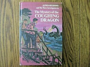 Alfred Hitchcock & 3 Investigators Mystery of the coughing Dragon HB Book 1970