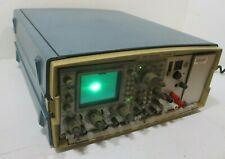 Tektronix Tm 515 Mainframe With Sc 502 15mhz Oscilloscope Amp Fg 501a Function Gen