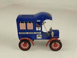 USPS Postal Service Collectible ERTL Limited Edition 1905 Delivery Truck Bank