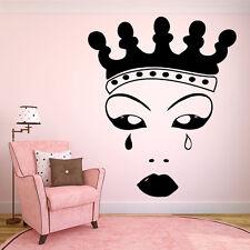Vinyl Wall Decal Sticker Decor Room Nursery Crown Princess Queen Girl Art F2108