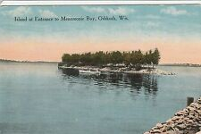 LAM(X) Oshkosh, WI - Island at the Entrance to Menomonie Bay