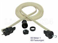 Dicht E27 Easy Click Illu-Bausatz 5m Lichterkette 5 Fass. Party Biergarten