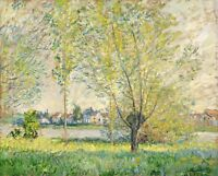 The Willows Painting by Claude Monet Art Reproduction