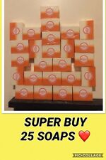 25 x Original Glutathione + Kojic Acid 2in1 Soap Skin Whitening Gluta Papaya