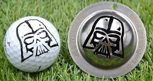 StarWars Darth Vader Golf Ball Custom Marker Stainless Steel