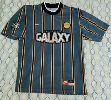Vintage 90s 1997 YOUTH Nike LA Galaxy Soccer Jersey MLS Futbol Size Youth Large