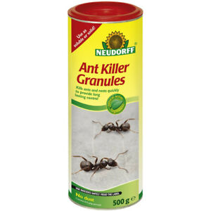 Ant Killer Granules Soluble / Solid Outdoor Nest Control Neudorff 500g Natural