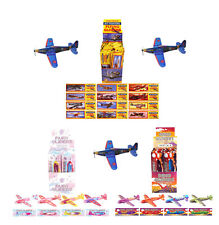 WWII Dinosaur Fairy Planes Flying Gliders Children's Birthday Party Bag Fillers