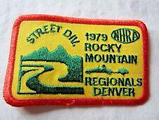 NHRA 1979 Original Street Div, Rocky Mountain Regionals Drag Racing Event Patch