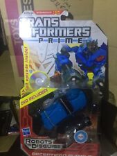 Transformers Prime Deluxe Class Rumble MOSC W/ DVD