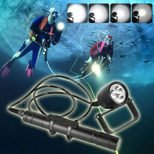 Underwater 150M 3000LM 3XXM-L U2 LED Pro Scuba Diving Flashlight Canister Light