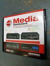"PC Multi-funtion 5.25"" Front Panel I/O Media Dashboard Card Reader, SATA #202"