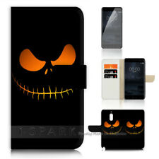 ( For Alcatel 3 2019 ) Wallet Flip Case Cover AJ40185 Nightmare Christmas