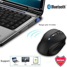 2400 DPI Wireless Bluetooth Mouse Optical Mice for Macbook PC Laptop Android US