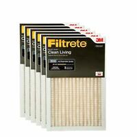 Filtrete Clean Living Basic Dust AC Furnace Air Filter, MPR 300, 16 x 25 x