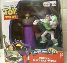 ZURG & BUZZ Toy Story LARGE Movie Figures Dolls - Rare find - SAME DAY SHIP -NEW