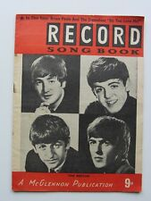 The Beatles Record Song Book 1964 The Beatles Record répertoire 1964