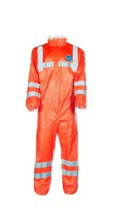 DuPont™ Tyvek® 500 HV Coverall Model 125. Size L. Fluorescent Orange.