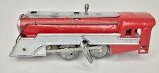 """Vintage 1930s Hafner Key Wind Up 7.5"""" Locomotive With Key & Bell #1010 O scale"""