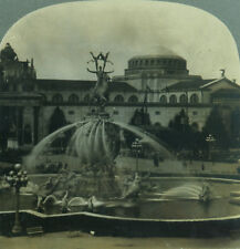Keystone Stereoview Fountain of Energy Pan-Pacific Expo San Francisco 1915 PPIE