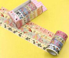 alice in wonderland Washi Tape Set Masking Tape Planner Sticker Scrapbooking Pla