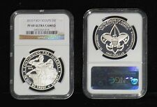Boy Scouts Of America 100th Ann. Silver Dollar (2010) PF-69 (NGC) Ultra Cameo