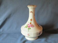 Vintage Haviland Limoges Chantilly Pattern Floral Ceramic Decanter & Stopper