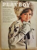 Playboy  November 1963 * Very Good Condition * Free Shipping USA