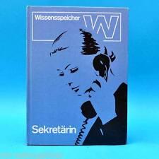 DDR   Wissensspeicher Sekretärin   Autorenkollektiv   EA 1972