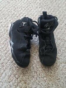 Boys Air Jordan Shoes –Size 13C preowned Black
