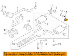 Ford Mustang 4.6L Exhaust Mounting Bracket SQUARE MOUNTING INSULATOR XR3Z5A246AA