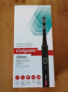 Colgate Omron ProClinical 250+ Rechargeable Electric Toothbrush.New Boxed.Black