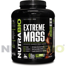 NutraBio Extreme Lean Mass Gainer High Protein Chocolate 6 lbs
