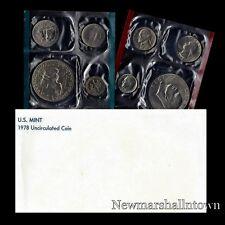 1978 P+D US Mint Set Eisenhower Kennedy Washington Roosevelt Jefferson Lincoln