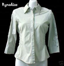 ♥♥♥ Auth UK MEXX Collar Stripes Shirt GB 8 Small ♥♥♥