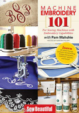 Machine Embroidery 101 With Pam Mahshie [DVD]
