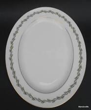 Wedgwood UK Oval Serving Platter Plate Chiltern W4284 twisted ribbon Bone China