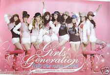 "GIRLS GENERATION ""INTO NEW WORLD ASIAN TOUR"" HONG KONG PROMO POSTER- K-Pop Music"