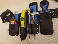 Andamio Cinturón de herramientas herramientas completas Femeninas Set nuevo Trinquete 19/21mm cinta de nivel 7/16