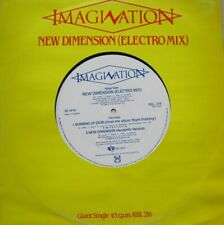 IMAGINATION - NEW DEMENSION  - GIANT SINGLE - 45 RPM - 12""